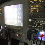 Panel del MFD de Precicion Flight Controls